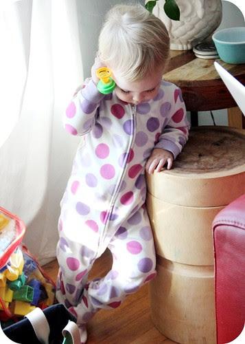 Eva on the phone