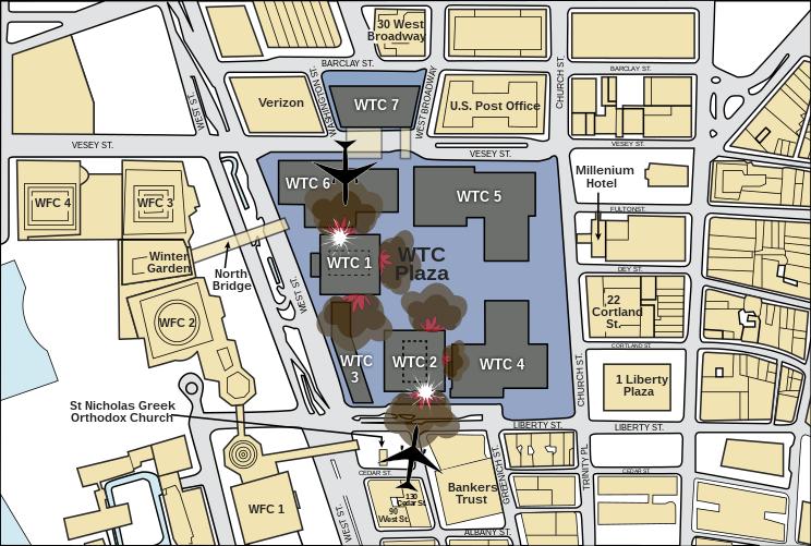 File:911 - FEMA - WTC impacts (graphic).svg