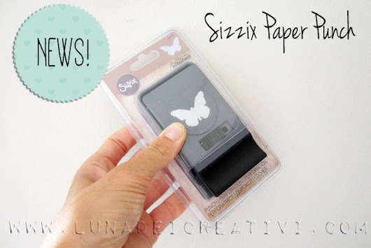 Sizzix Paper Punch - Sizzix Dictionary - 1