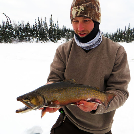 Northern Minnesota Winter Trout - Big Kype
