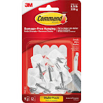 Command Small Wire General Purpose Hooks