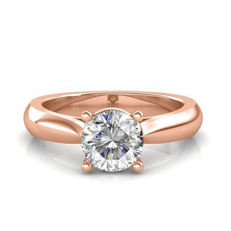Classic Engagement Ring   Solitaire Diamond Rings at Best