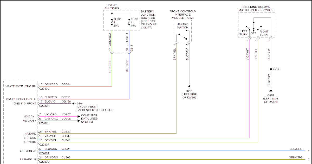 Aamidis Blogspot Com  Ford Fiesta Rear Light Wiring Diagram
