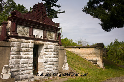 Mausoleums, Grandview Cemetery, Chillicothe, Ohio