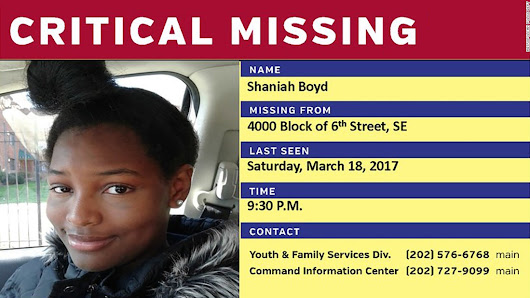 Missing black girls in DC prompt calls for federal help