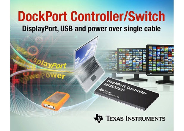 TI intros singlechip DockPort tailored for laptops and tablets