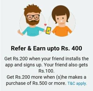 {*BACK AGAIN*} Flipkart App : Refer Friends & Earn Upto Rs.400 Per Refer