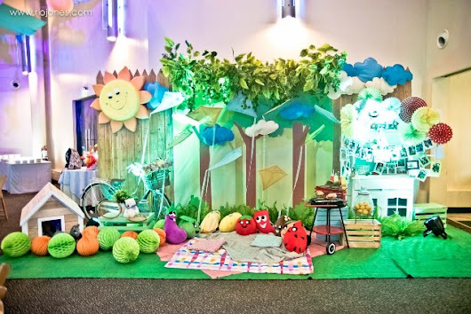 Joziah Kale's Picnic Themed Party – 1st Birthday - Party Doll Manila