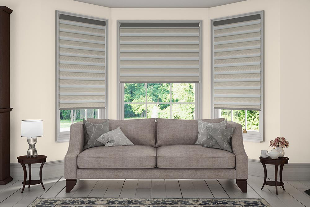 Large Window Blinds Choice | Window Treatments Design Ideas