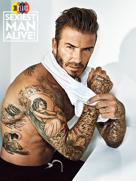 David Beckham : PEOPLE's Sexiest Man Alive (November 2015)