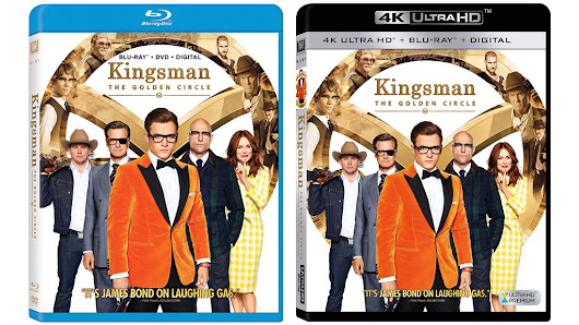 Kingsman: The Golden Circle releases to Blu-ray & 4k Blu-ray on Tuesday – HD Report