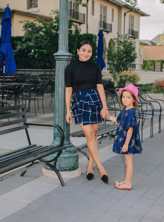 Mommy and Me Preppy Transition Outfit - April Was Here