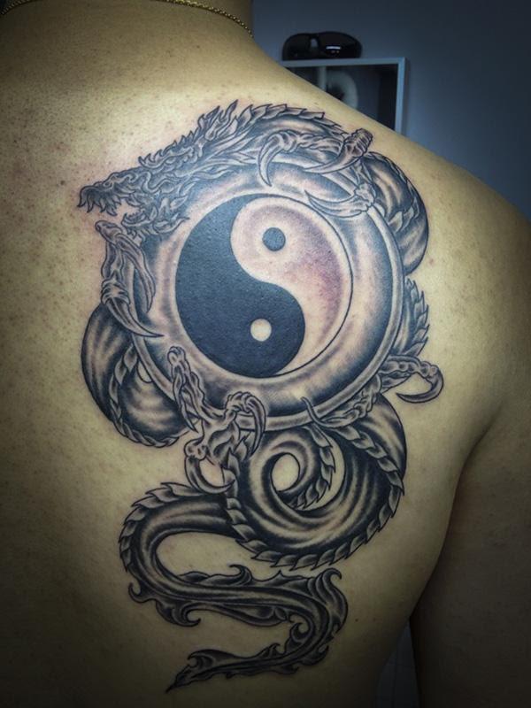 yin yang tattoos meaning