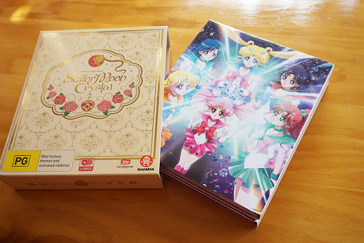 Sailor Moon Crystal Set 2 (Limited Edition) Review