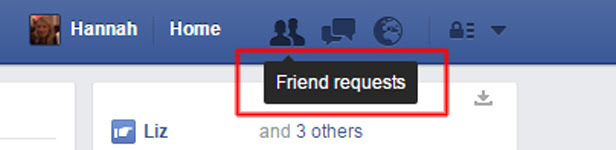 Screenshot, who has been ignoring your Facebook friend requests