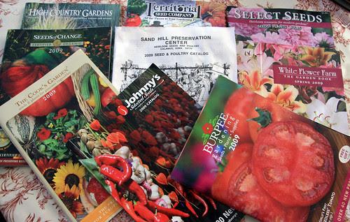 gardening catalogs
