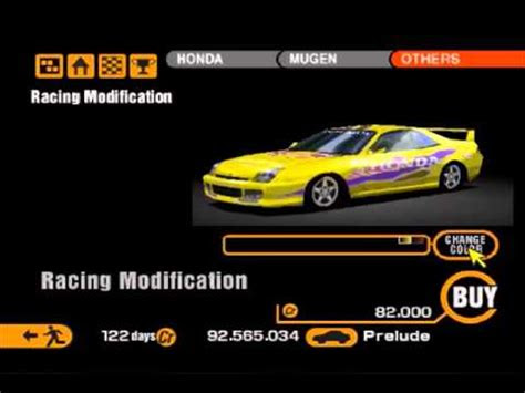 gran turismo  hondaacura racing modifications youtube
