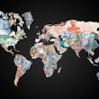 Fiat Money - Circa 2012 This map of currencies...