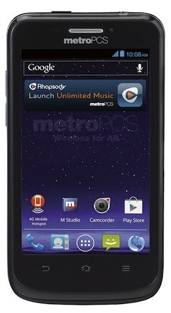 MetroPCS intros 4inch ZTE Avid 4G, brings LTE and ICS for a mere $149