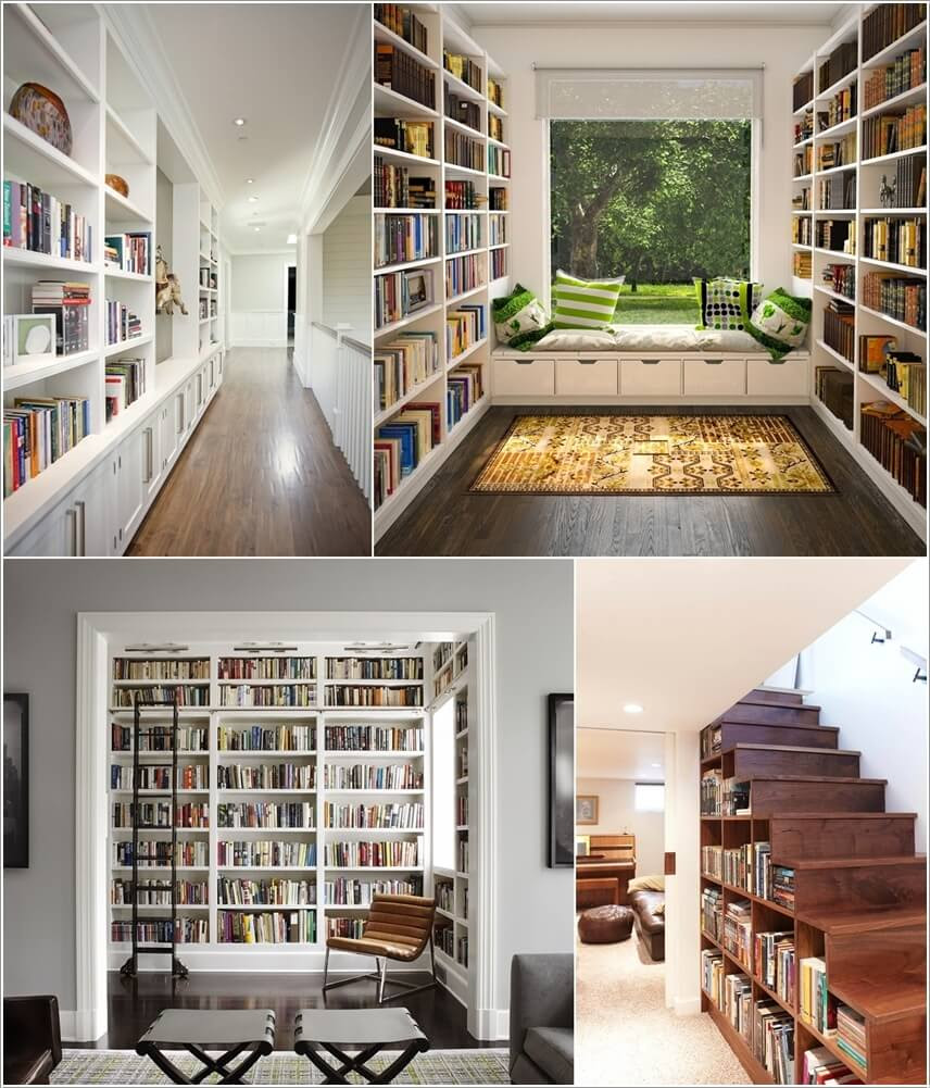 15 Home Libraries That Will Take Your Breath Away