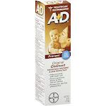 A+D Prevent Diaper Rash & Skin Protectant Original Ointment - 4 oz box