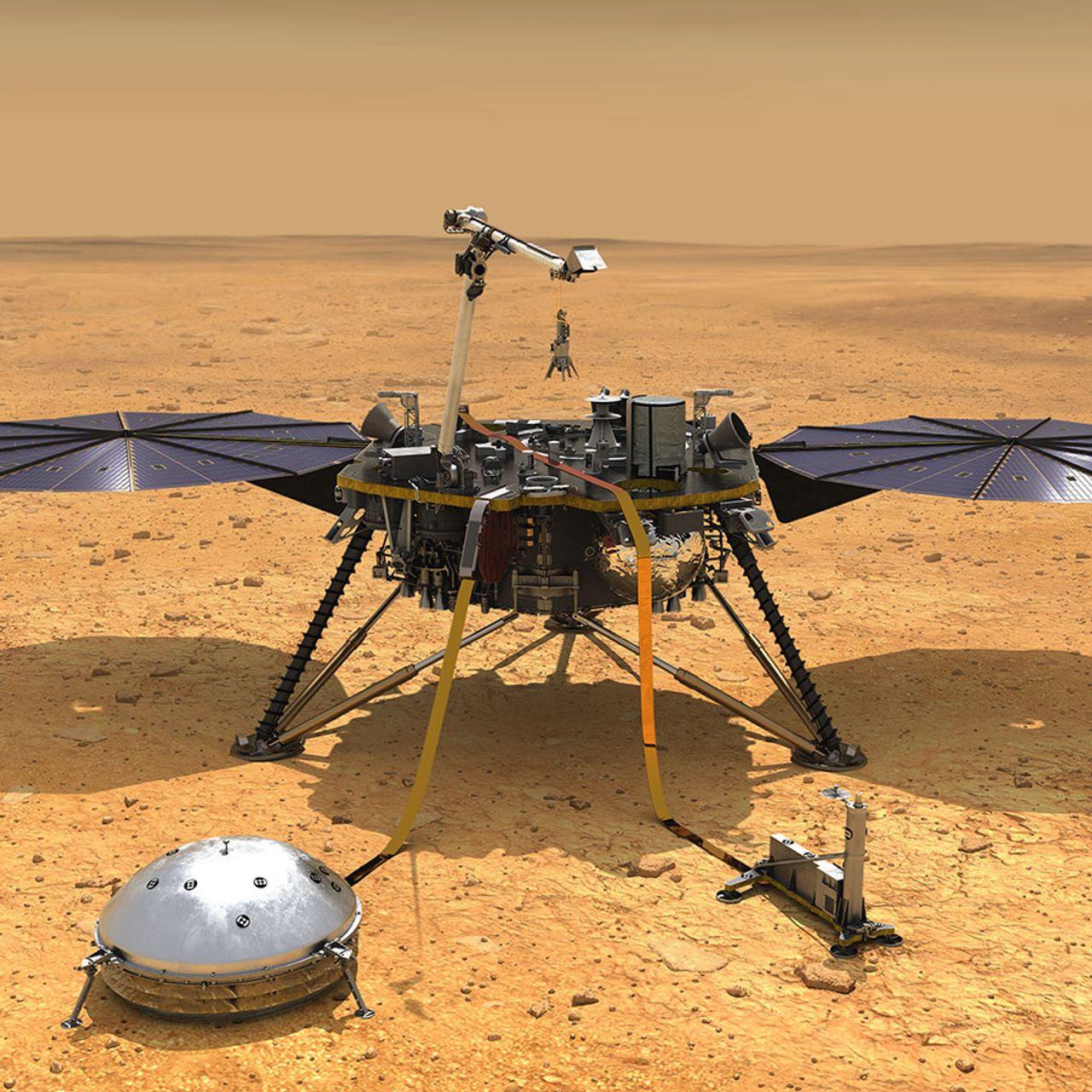 NASA's InSight Lander Gives First Look at Mars Interior, Yielding a Big Surprise