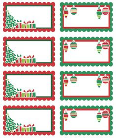 Free Printable Gift Tags Template - ClipArt Best