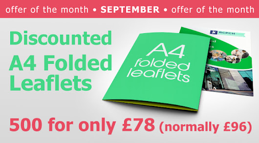Offer of the month - Printing Solutions in Cardiff