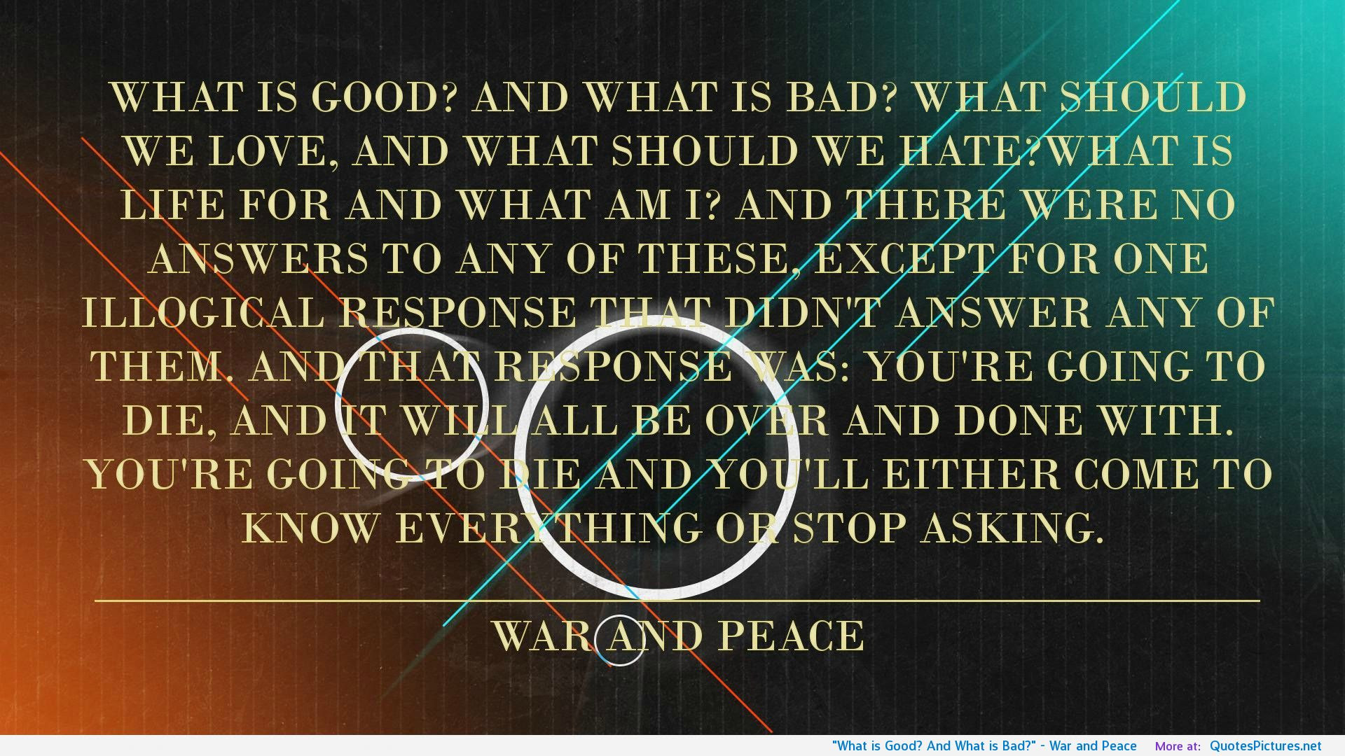 Quotes About Peace Not War 137 Quotes