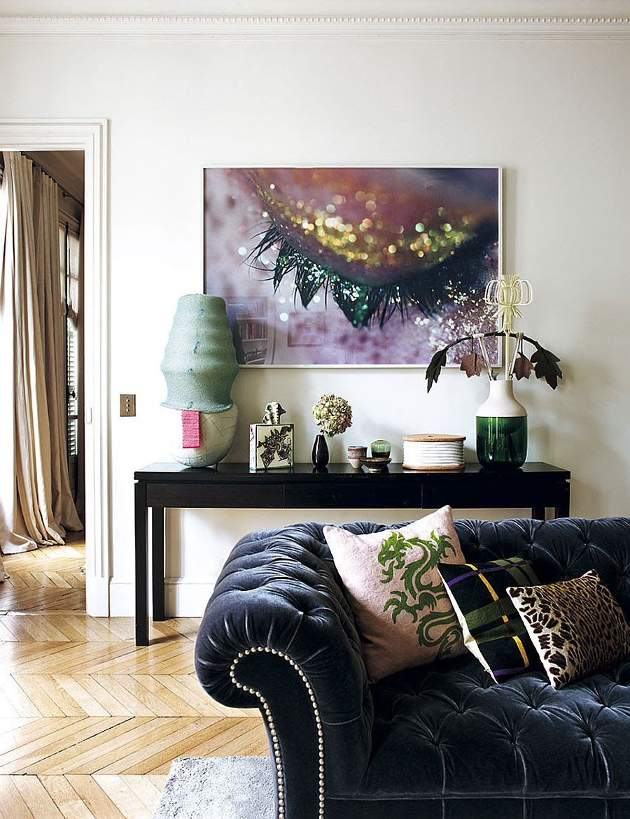 Decorating Parisian Style: Chic Modern Apartment by Sandra ...