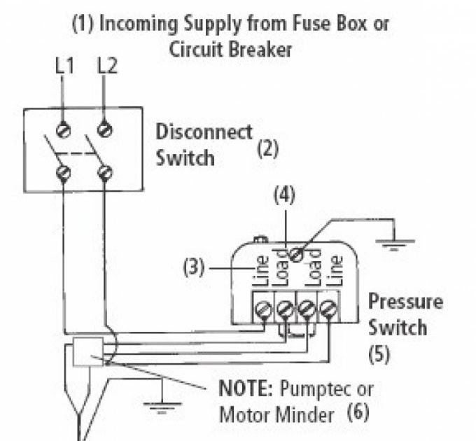 2 Wire Submersible Well Pump Wiring Diagram