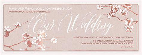Free Online Wedding Invitations   Evite
