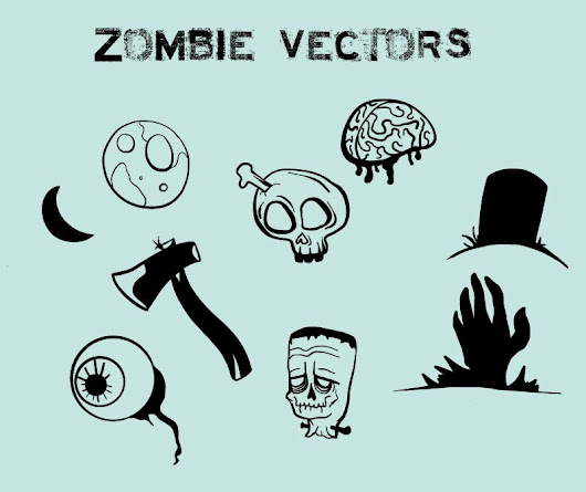 Zombie Vectors - Gullrat.com - Designers Gas Station