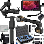 DJI Ronin-S - CP.ZM.00000103.02 with Feelworld Master MA5 4K Monitor Ultimate Bundle