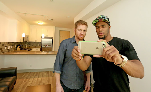 Seahawks draft pick/interior designer transforms Matt Calkins' apartment
