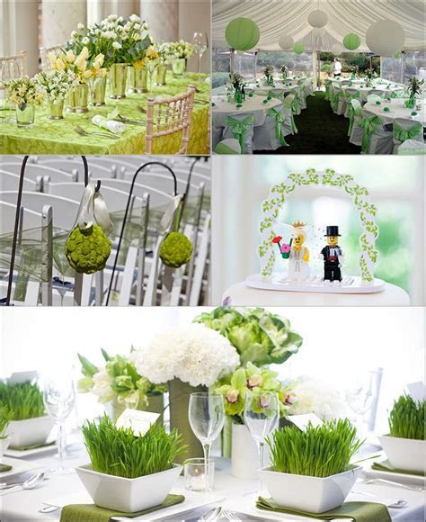 5 Green Wedding Decorations That Will Leave You Speechless