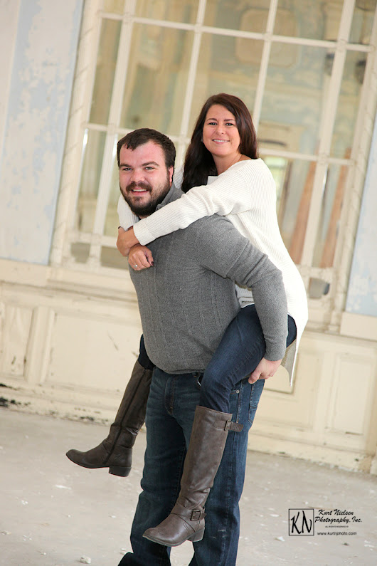 Engagement Photography at Commodore Perry Apartments
