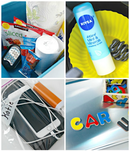 Easy Car Organizing Hacks - Mom 4 Real