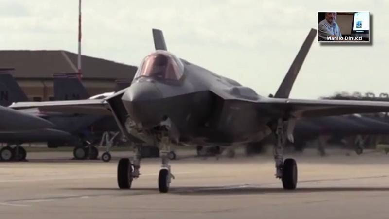 PTV news speciale - Cacciabombardieri Usa F-35 schierati in Estonia e Bulgaria   Pandora TV