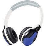 Universal IR Wireless Foldable Headphones (Blue)