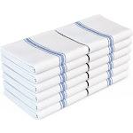 Zeppoli Classic White Kitchen Towels - 100% Natural Cotton Dish Towels 15-pack