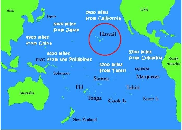 On My Way to Australia: Hawaii