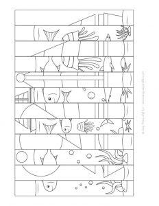 Agamograph Tekniği Ile Boyama Ve Katlama çalışması Sınıf