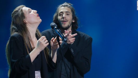 Portugal's Salvador Sobral wins Eurovision Song Contest
