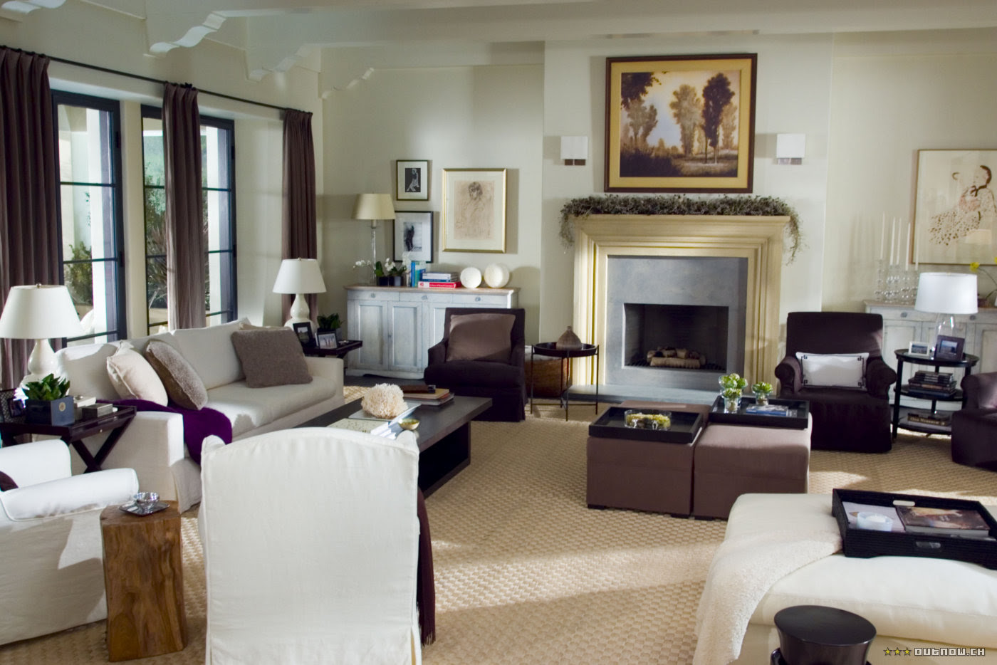Best House Interior Design Set cote de texas: uncomplicated nancy meyers' own home!