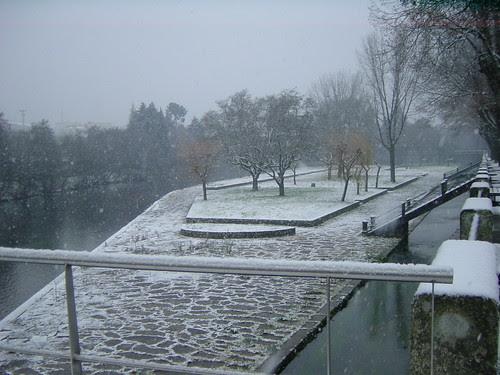 Neve nos Arcos de Valdevez