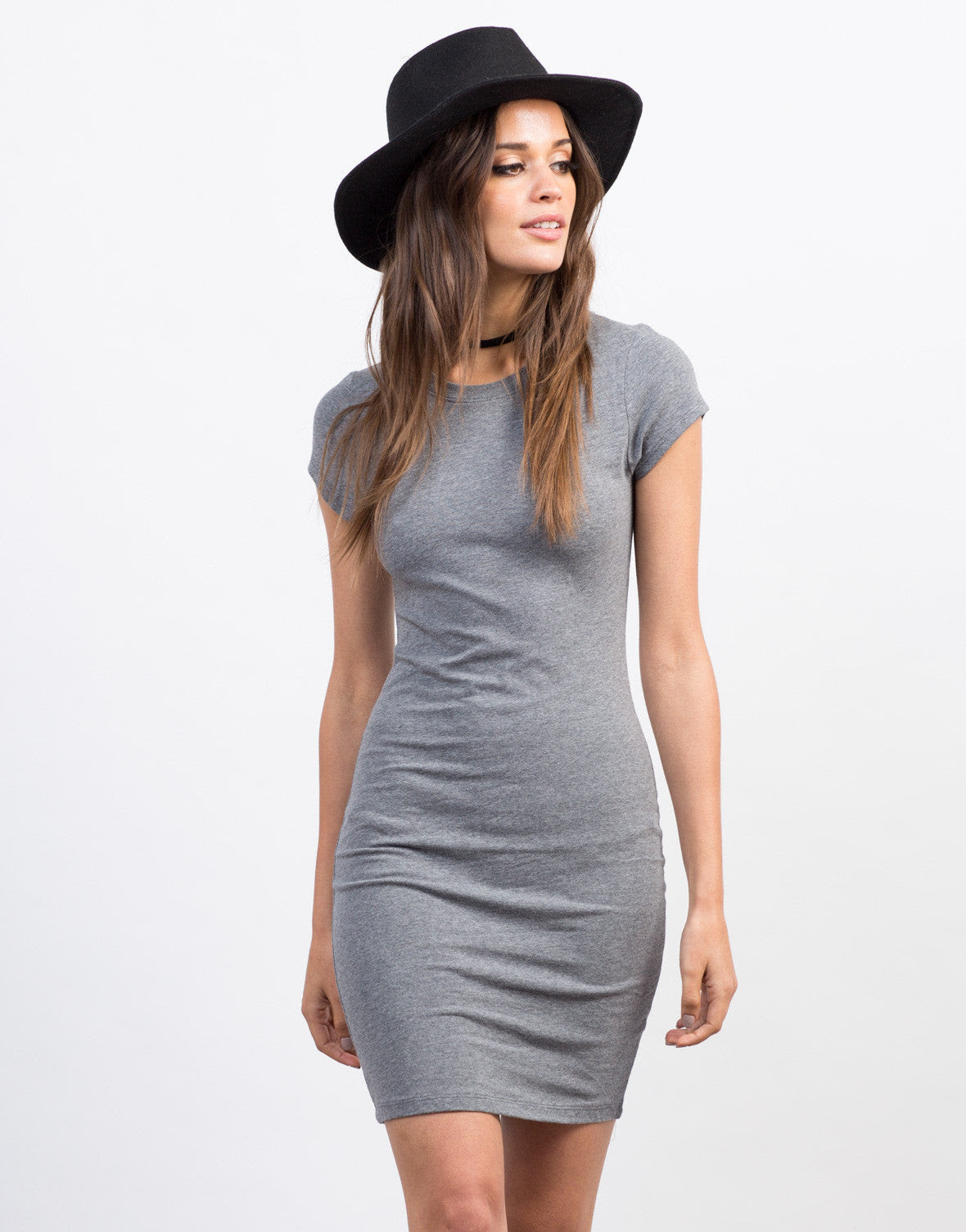 Bodycon dress out of a t shirt hop with short