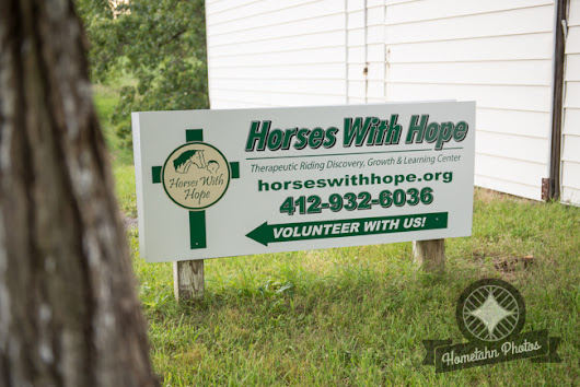 Therapeutic Horse Back Riding with Horses with Hope