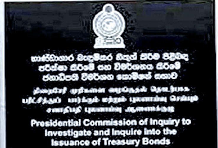 Bond Commission report to be handed over soon