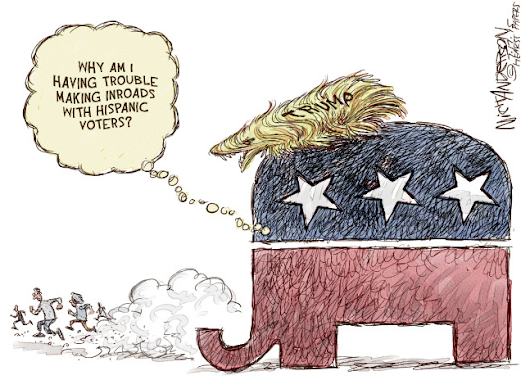 Political cartoons that perfectly sum up the GOP primary